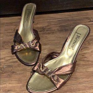 J Renee high heel sandals